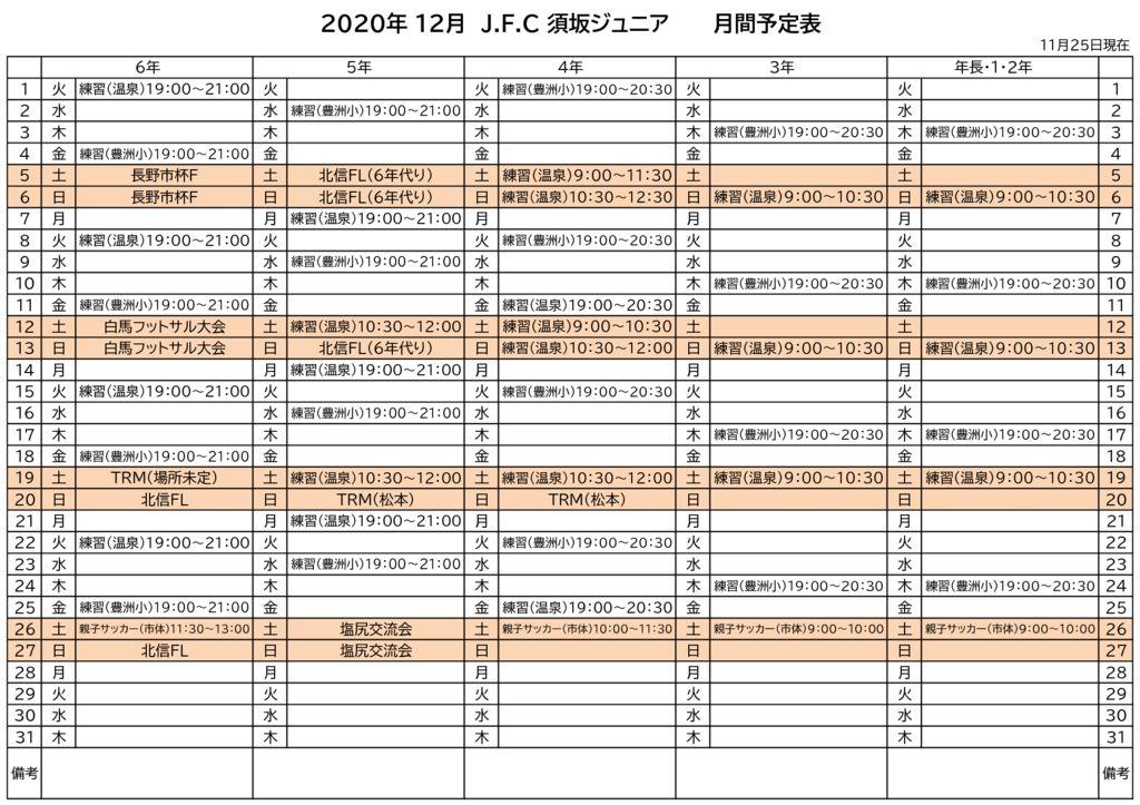 《ジュニア》2020グランド調整表(12月)のサムネイル